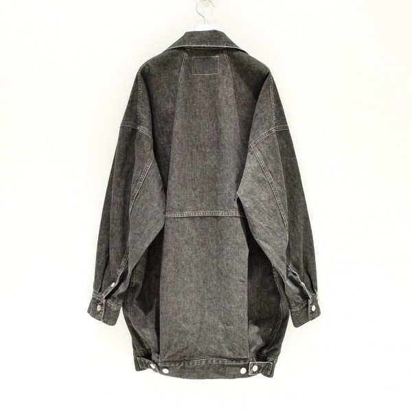 "NEON SIGN(ネオンサイン) / PAIRS COAT ""USED"" (BLACK USED)