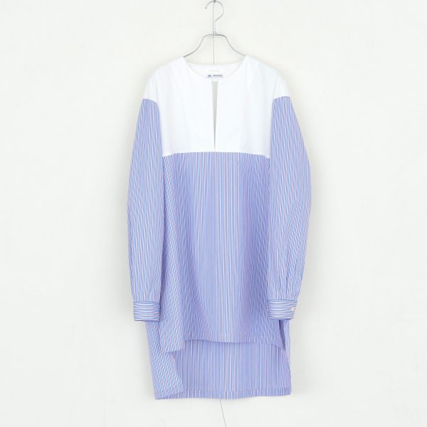 DISCOVERED(ディスカバード) / STRIPE SKIPPER SHIRT|pop5151|01