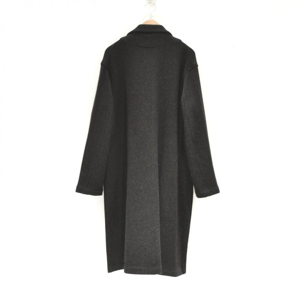 THEE(シー) / w-face knit gown coat (BLACK)|pop5151|02