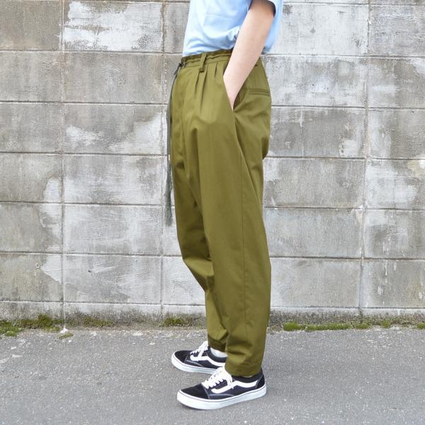 Edwina Horl(エドウィナホール) / 3TUCK PANTS|pop5151