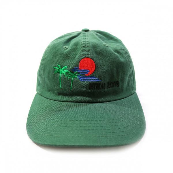 elephant TRIBAL fabrics / HIWAII CAP(GREEN)|pop5151