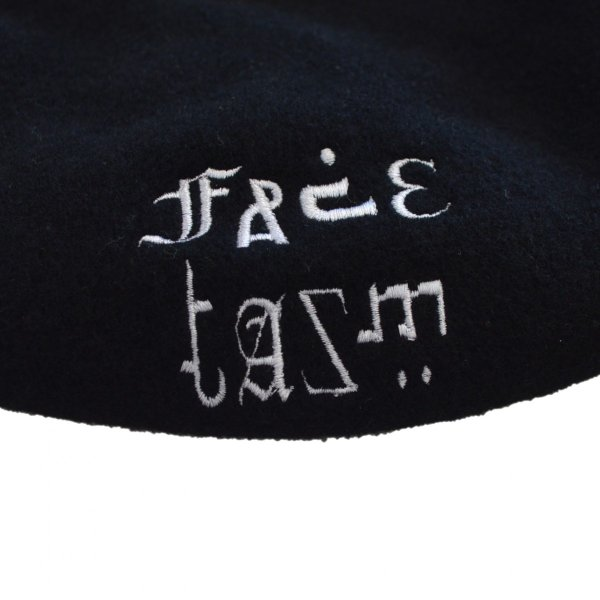 FACETASM(ファセッタズム) / FACETASM BERET(BLACK)|pop5151|05