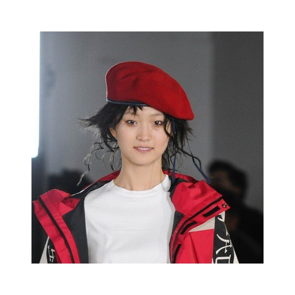 FACETASM(ファセッタズム) / FACETASM BERET(RED)|pop5151|06