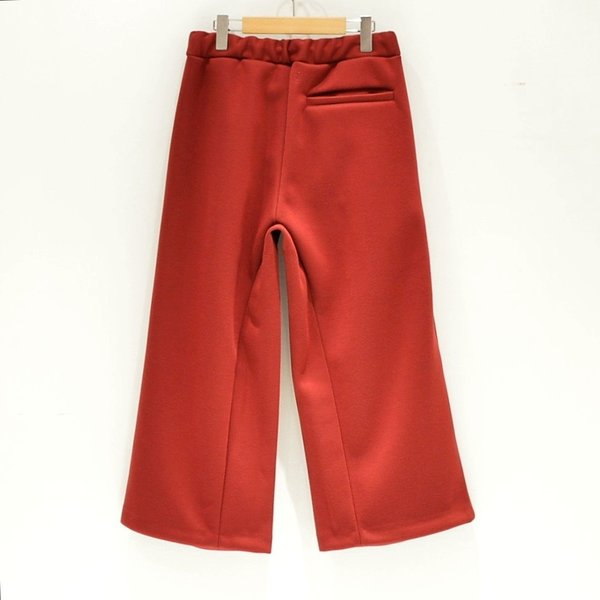 Prasthana(プラスターナ) / bonding heavy jersey tuck pants|pop5151|02