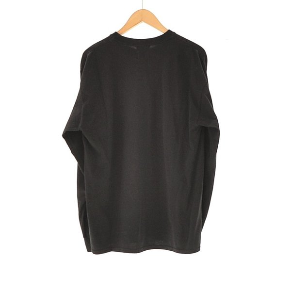 WHEIR Bobson (ウェアボブソン) / Heavy Jersey Long sleeve T (BLACK)|pop5151|02