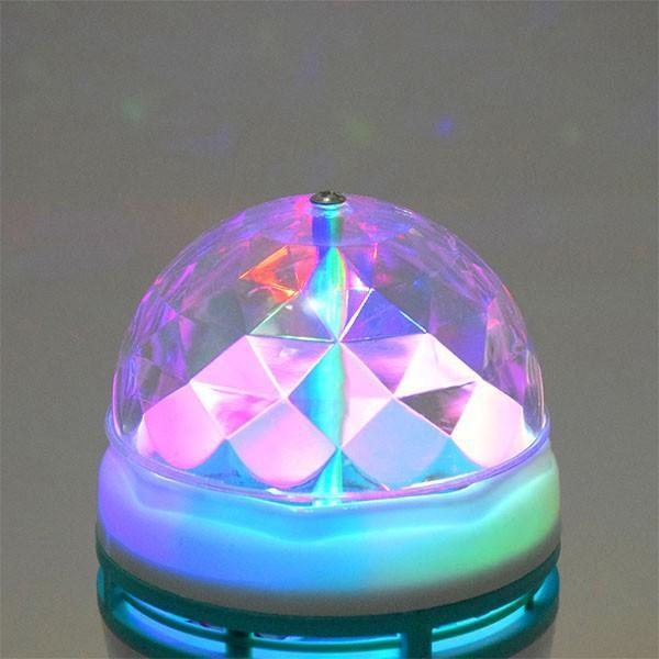 ミラーボール 照明 電球 光る 回る LED ミラーボール|popularshop|02