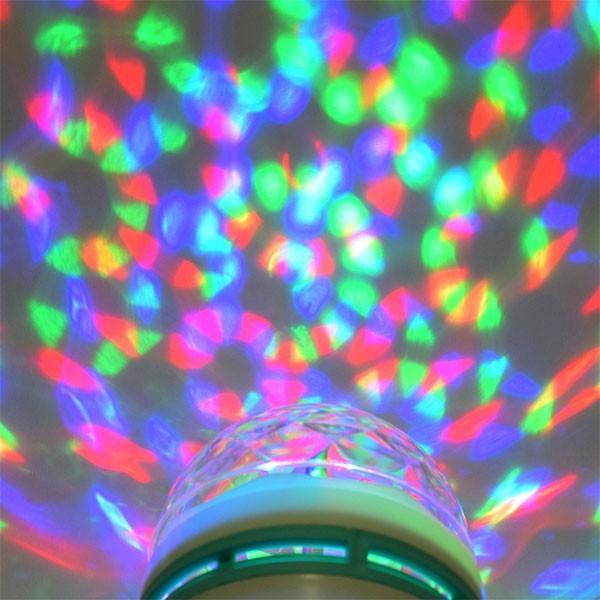 ミラーボール 照明 電球 光る 回る LED ミラーボール|popularshop|03