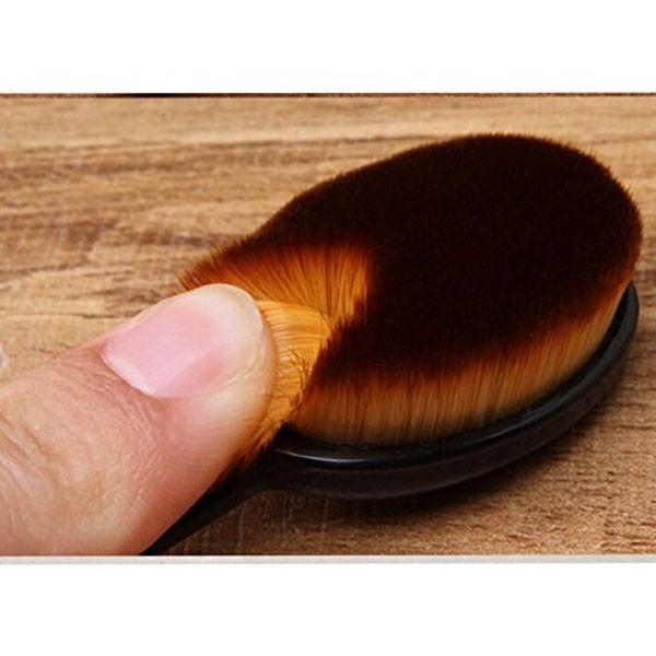 メイクブラシ ファンデーションブラシ 歯ブラシ型 キャップ付き|popularshop|03