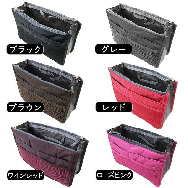 バッグインバッグ レディース メンズ 小さめ おしゃれ 旅行 トラベルポーチ 荷物整理|popularshop|05