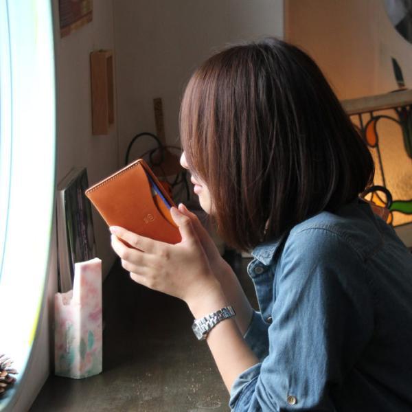 本革 通帳ケース メンズ レディース  PORCO ROSSO(ポルコロッソ) [sokunou]|porco-rosso|04