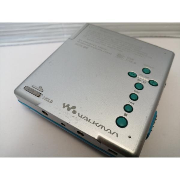 4a10【中古 60日保証】 ソニー MDウォークマン MZ-E520 シルバー (MDLP対応 ポータブル MDプレーヤー