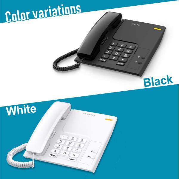 電話機 おしゃれ 本体 卓上 壁掛け オフィス ビジネス アルカテル T26 post-sign-leon 02