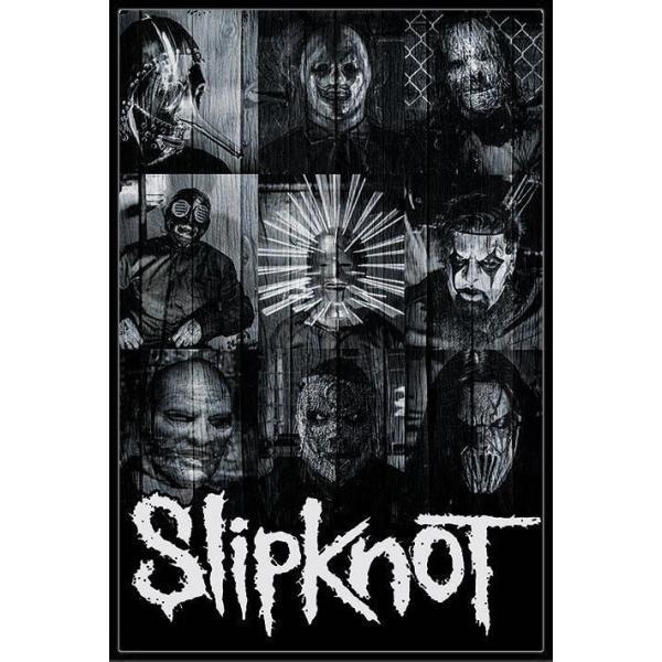 スリップノット ポスター フレームセット Slipknot (Masks)((150409)