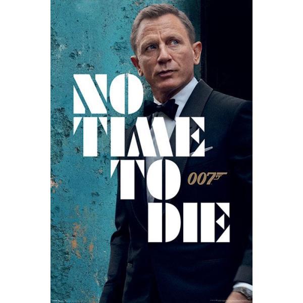 【予約】007 ノー・タイム・トゥ・ダイ ポスター ジェームス ボンド ダイニエル クレイグ James Bond (No Time To Die - Azure Teaser) 211008