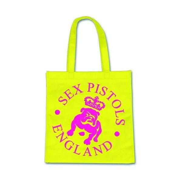セックス・ピストルズ エコバッグ Sex Pistols Eco-Bag: Bulldog Logo
