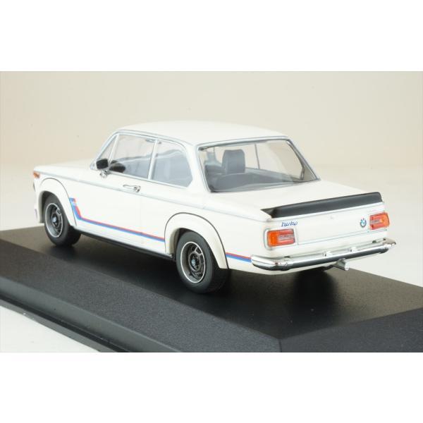マキシチャンプス 1/43 BMW 2002 ターボ 1973 ホワイト 完成品ミニカー 940022201|posthobbyshop|02