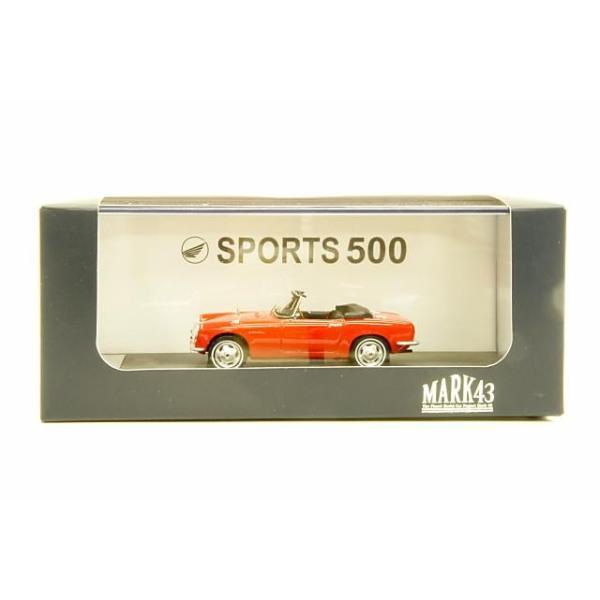 ミニカー マーク43 MARK43 (PM4322R) 1/43 ホンダ S500(AS280) スカーレット|posthobbyshop|03