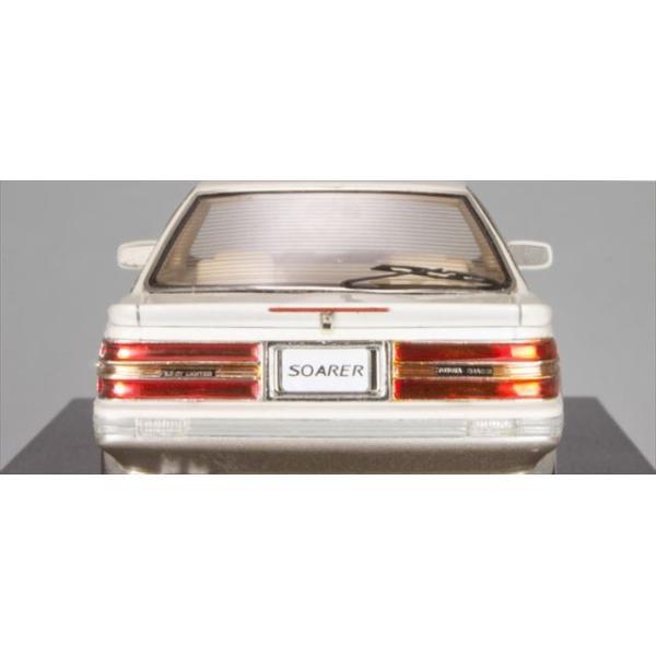 ミニカー マーク43 MARK43 (PM4315BWS) 1/43 トヨタ ソアラ 3.0GT-リミテッド(E-MZ20) クリスタルホワイトトーニングII|posthobbyshop|04