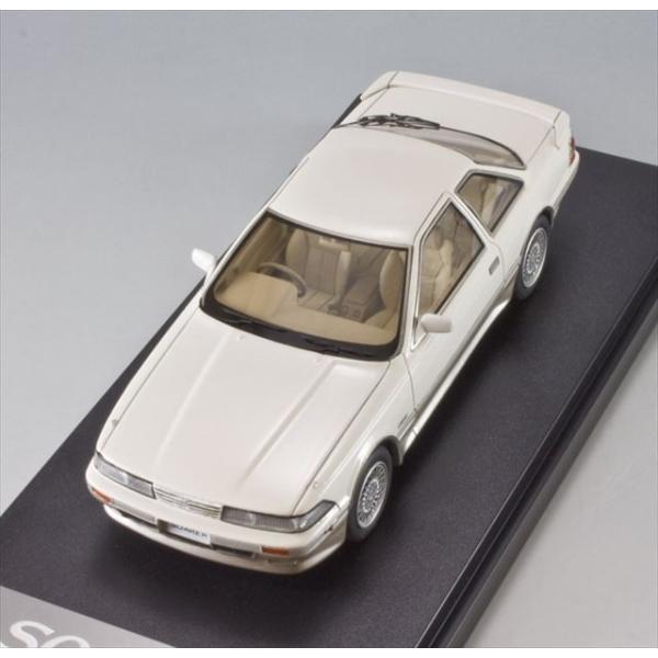 ミニカー マーク43 MARK43 (PM4315BWS) 1/43 トヨタ ソアラ 3.0GT-リミテッド(E-MZ20) クリスタルホワイトトーニングII|posthobbyshop|05