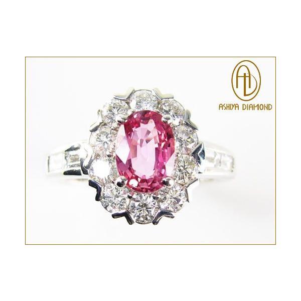 パパラチアサファイアリング/0.930ct ダイヤモンド0.82ctプラチナ900指輪/芦屋ダイヤモンド/極KIWAMI|power-house-again|03