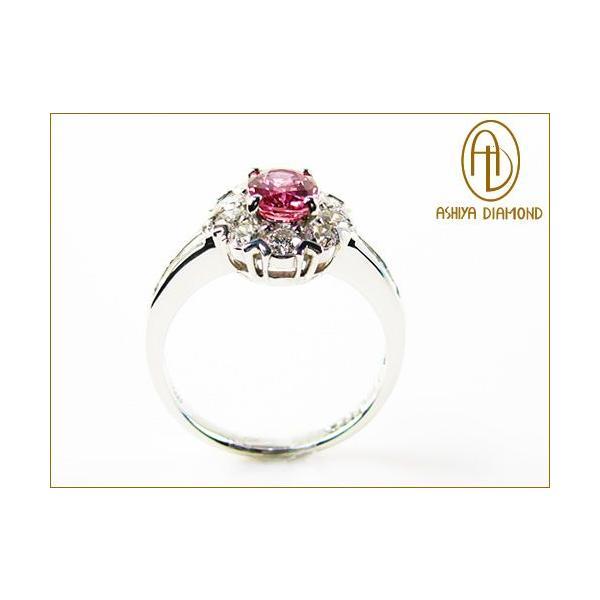 パパラチアサファイアリング/0.930ct ダイヤモンド0.82ctプラチナ900指輪/芦屋ダイヤモンド/極KIWAMI|power-house-again|04