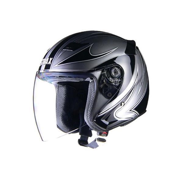 リード工業 STRAX SJ-9 ジェットヘルメット シルバー Mサイズ power-house-sports