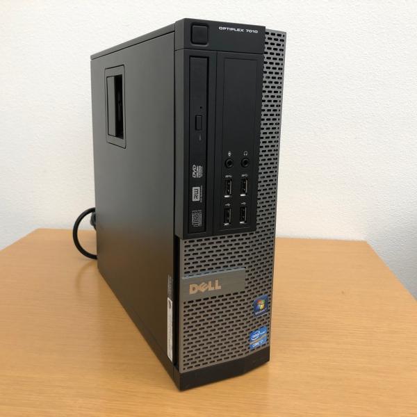 【中古ゲーミング】GeForceGTX1050Ti搭載 本体のみ DELL Optiplex 7010 SFF Core i7-3770/メモリ8GB/SSD240GB/DVDマルチ/GeForceGTX1050Ti/有線LAN|powerdepot