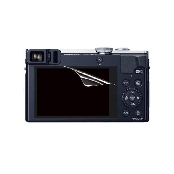 【高光沢タイプ】Panasonic Lumix DMC-TZ70/TZ57専用  指紋防止 反射防止 気泡レス加工 高光沢 カメラ液晶保護フィルム