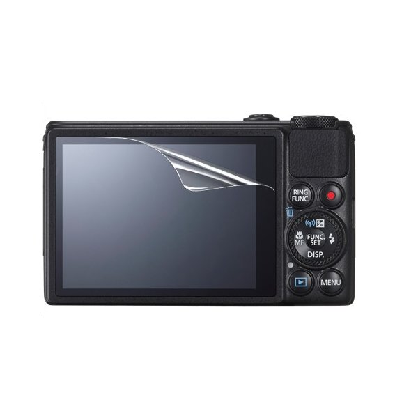 【高光沢タイプ】Canon PowerShot S120/S110専用  指紋防止 反射防止 気泡レス加工 高光沢 カメラ液晶保護フィルム