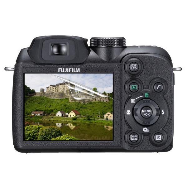 【高光沢タイプ】Fujifilm FinePix S1500専用  指紋防止 反射防止 気泡レス加工 高光沢 カメラ液晶保護フィルム