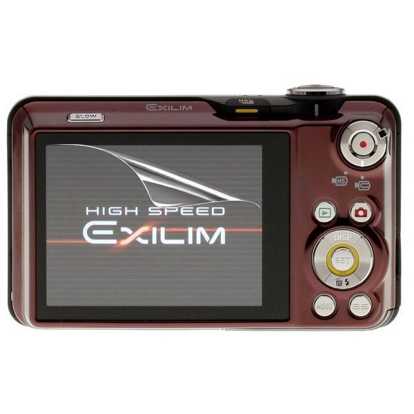 【高光沢タイプ】Casio EXILIM EX-FC150専用  指紋防止 反射防止 気泡レス加工 高光沢 カメラ液晶保護フィルム
