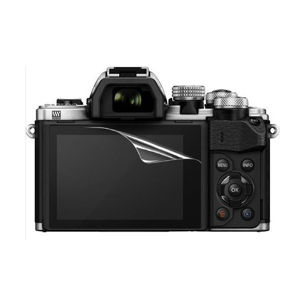 【高光沢タイプ】OLYMPUS OM-D E-M5 Mark II/E-M10 MarkII専用  指紋防止 反射防止 気泡レス加工 高光沢 カメラ液晶保護フィルム