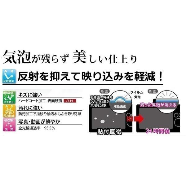 【高光沢タイプ】SONY Cyber-shot DSC-WX500/HX90V専用  指紋防止 反射防止 気泡レス加工 高光沢 カメラ液晶保護フィルム
