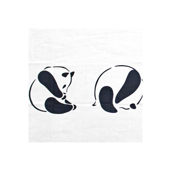 ケネマ手拭い でんぐりパンダ|pp-koshidou