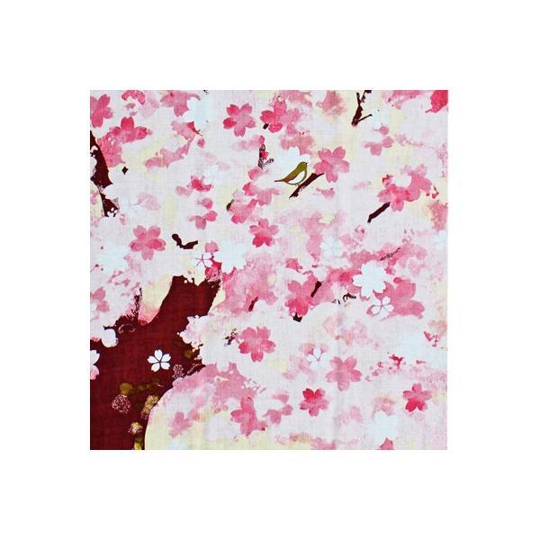 濱文様 絵てぬぐい 夢桜|pp-koshidou