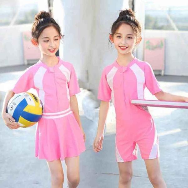 子供 女の子 水着 ワンピース キッズ 女の子 水着 セパレート パンツ付き 女の子 水着 子供 ジュニア 女の子 プール スイムウェア キュート 可愛い ビーチ