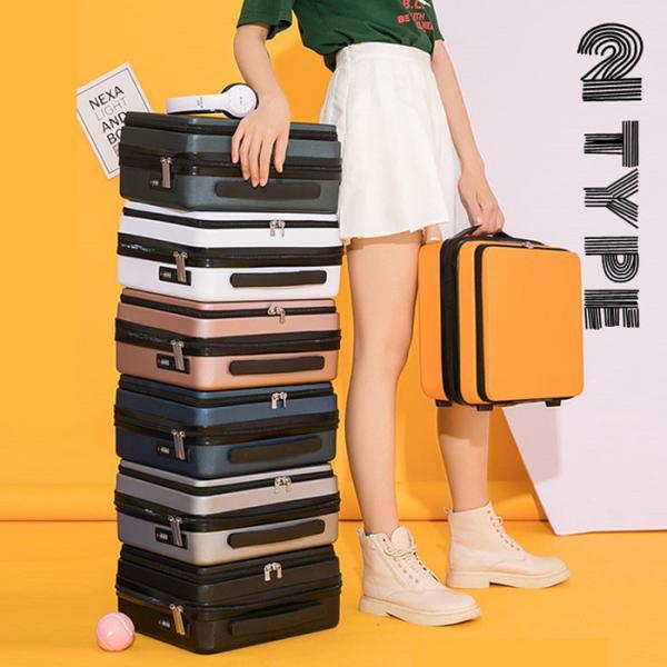 スーツケース キャリーケース キャリーバッグ トランク 軽量Sサイズ おしゃれ 静音 ハード 機内持ち込み 小型 軽量 ファスナー 旅行カバン