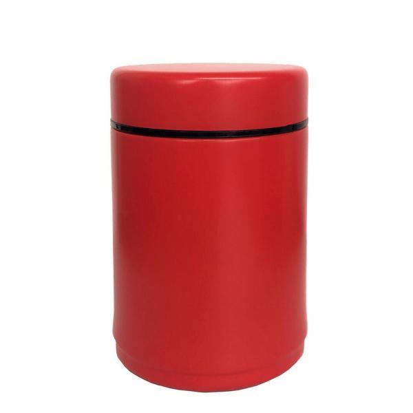 コンパクト スープポット 200ml アールグレイ レッド 軽い コンパクト スープ ランチタイム かわいい 女子力 持ち運び バッグ シンプル