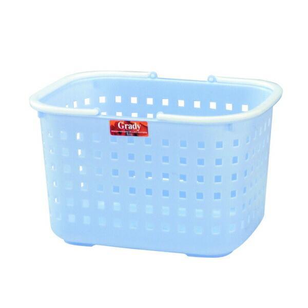 洗濯かご アスベル ASVEL グレディバスケットM型 ブルー 4974908741647 ランドリー バスケット ランドリー収納 洗面 大型 深型