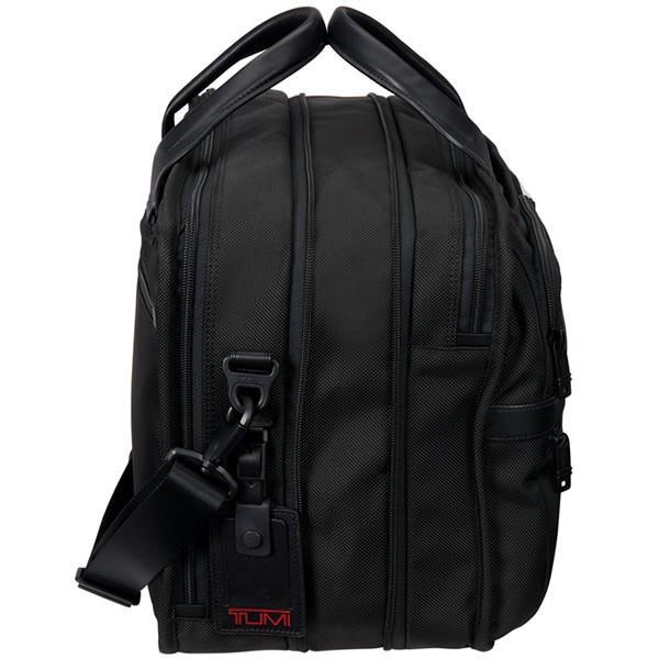 TUMI トゥミ  ビジネスバッグ/ブリーフケース ALPHA2 26141 D2 ブラック A4サイズ エクスパンダブル  即納|pre-ma|03