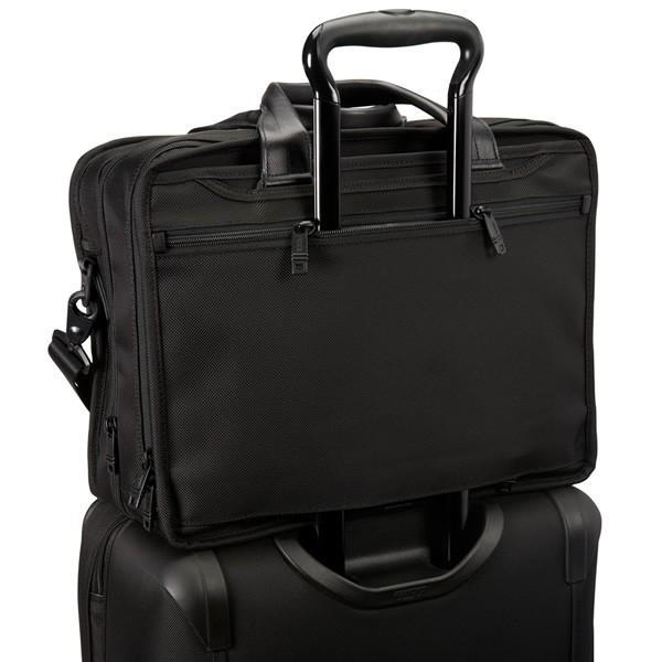 TUMI トゥミ  ビジネスバッグ/ブリーフケース ALPHA2 26141 D2 ブラック A4サイズ エクスパンダブル  即納|pre-ma|05