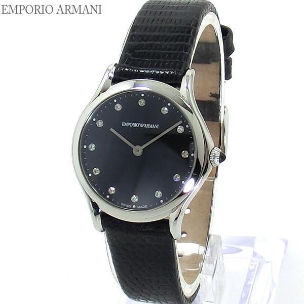 sale retailer bbc25 532a9 エンポリオ アルマーニ 腕時計 ARS7502 28mm レディース ダイヤインデックス EMPORIO ARMANI SWISS MADE  【アウトレット】