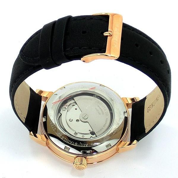 ニューヨーカー NEWYORKER 腕時計 自動巻き DD-BEATS  NY002.13 メンズ  PG/BK レザー 【アウトレット訳あり】|pre-ma|03