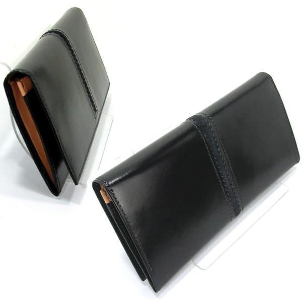 ファイブウッズ FIVE WOODS 長財布 二つ折り TED'S 38024 ブラック メンズ 決算セール|pre-ma|02