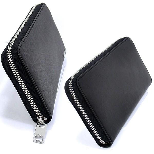 ディーゼル ラウンドジップ 長財布 DIESEL X04458 PR227 H6586 ブラック/オレンジ PEPPER 新品|pre-ma|02