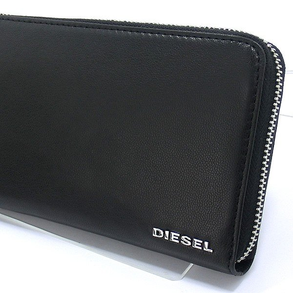 ディーゼル ラウンドジップ 長財布 DIESEL X04458 PR227 H6586 ブラック/オレンジ PEPPER 新品|pre-ma|04