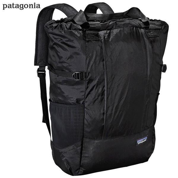 パタゴニア リュックサック/トートバッグ 2way ポケッタブル 48808 BLK patagonia LIGHT WEIGHT TRAVEL TOTE PACK 22L|pre-ma