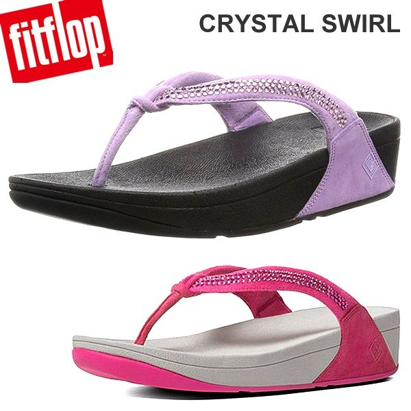 フィットフロップ  fit flop FITFLOP サンダル CRYSTAL SWIRL レディース クリスタル 決算SSP|pre-ma