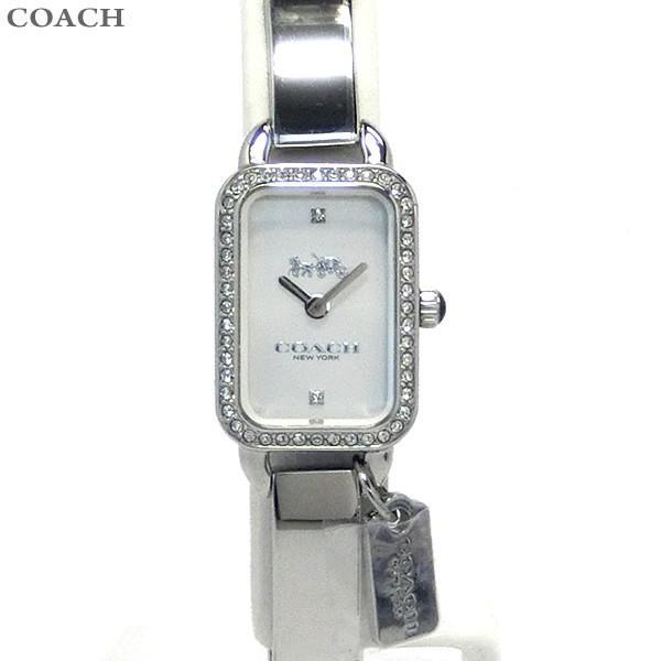adc903c65502 コーチ COACH レディース 腕時計 バングル 14502823 ラドロー シルバーの画像