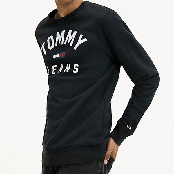 TOMMY JEANS トミー ジーンズ  メンズ スウェット トレーナー ESSENTIAL FLAG CREW  DM0DM07024 TOMMY HILFIGER pre-ma 02